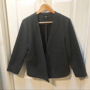 Kate Spade charcoal gray blazer